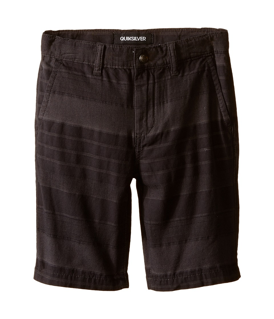 Quiksilver Kids - Griffin Shorts (Little Kids) (Dark Shadow) Boy's Shorts