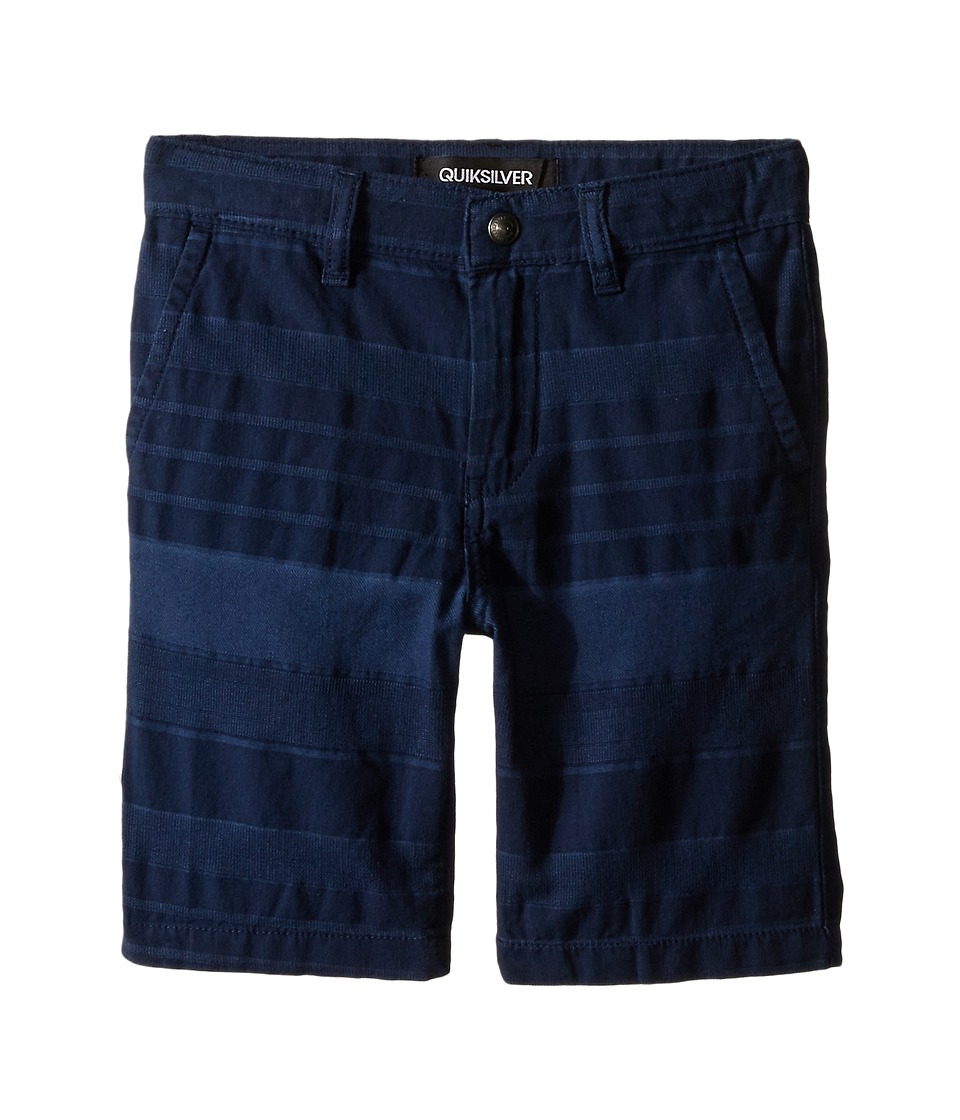 Quiksilver Kids - Griffin Shorts (Little Kids) (Navy Blazer) Boy's Shorts