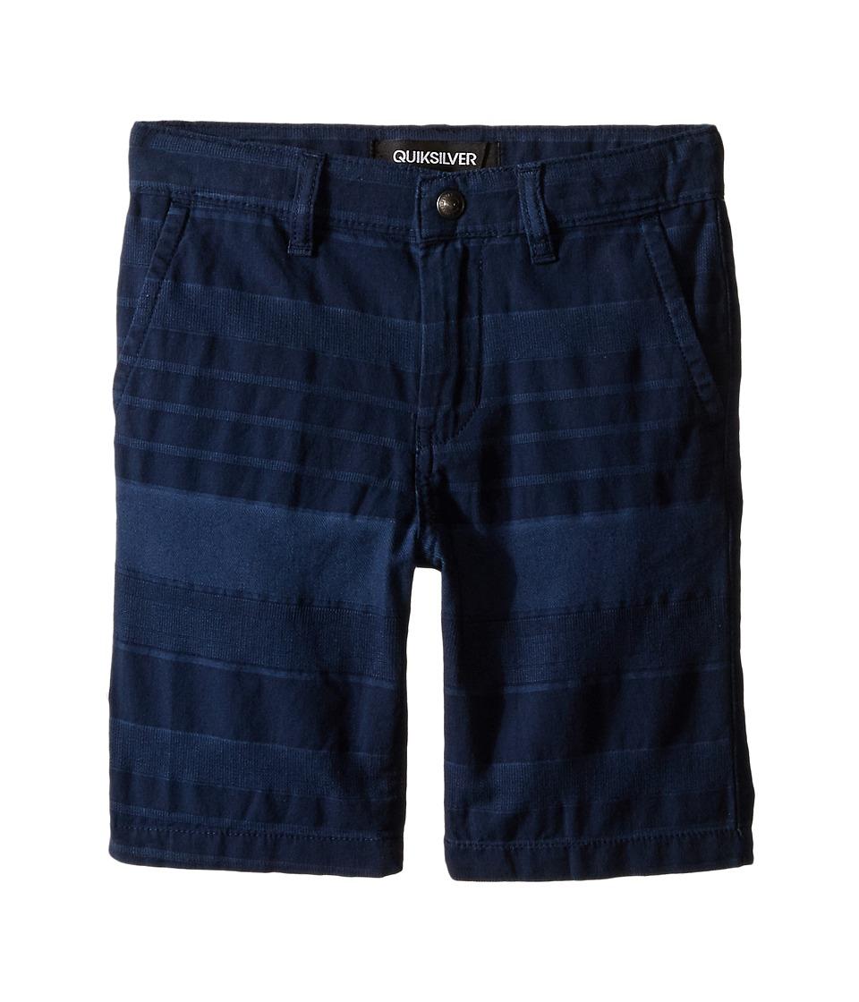 Quiksilver Kids - Griffin Shorts (Little Kids) (Navy Blazer) Boy's Shorts