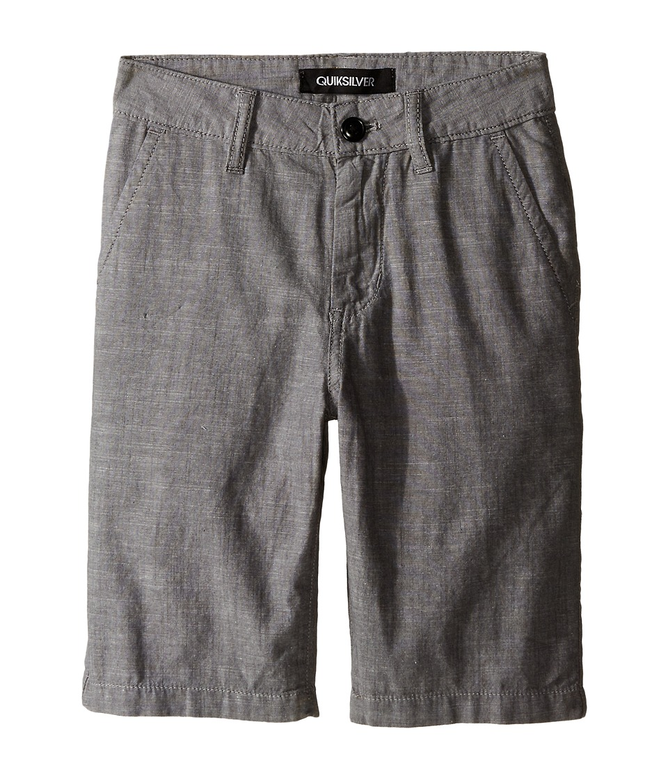 Quiksilver Kids - Trenton Shorts (Big Kids) (Dark Shadow) Boy's Shorts