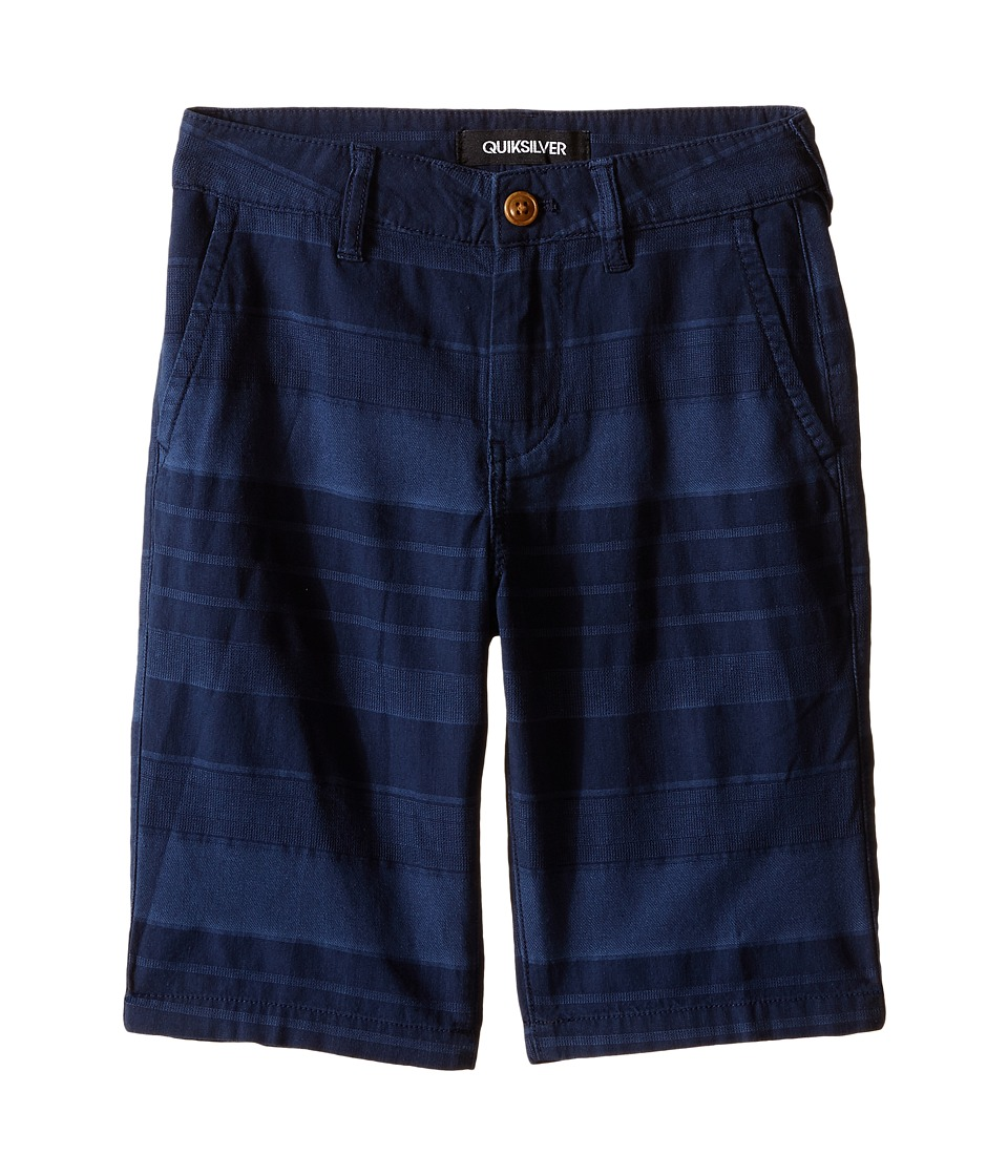 Quiksilver Kids - Griffin Shorts (Big Kids) (Navy Blazer) Boy's Shorts