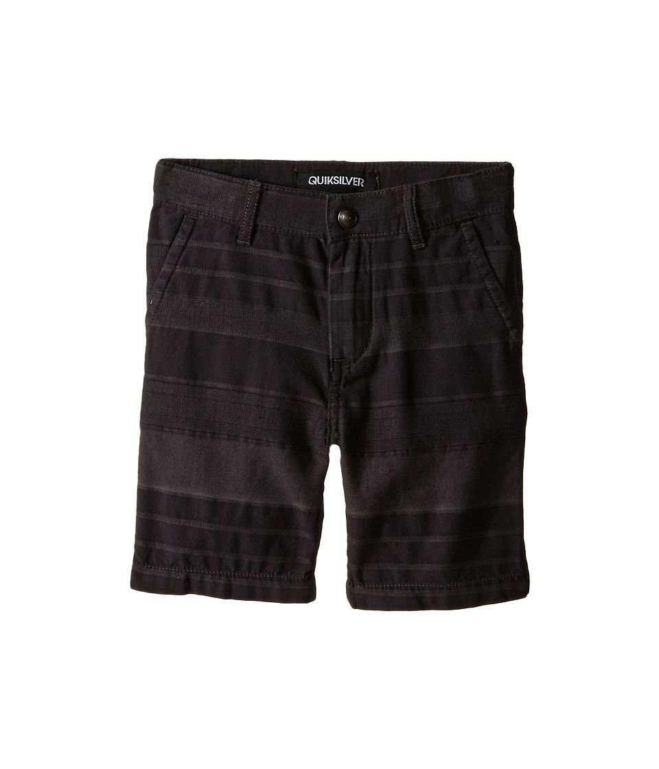 Quiksilver Kids - Griffin Shorts (Toddler) (Dark Shadow) Boy's Shorts
