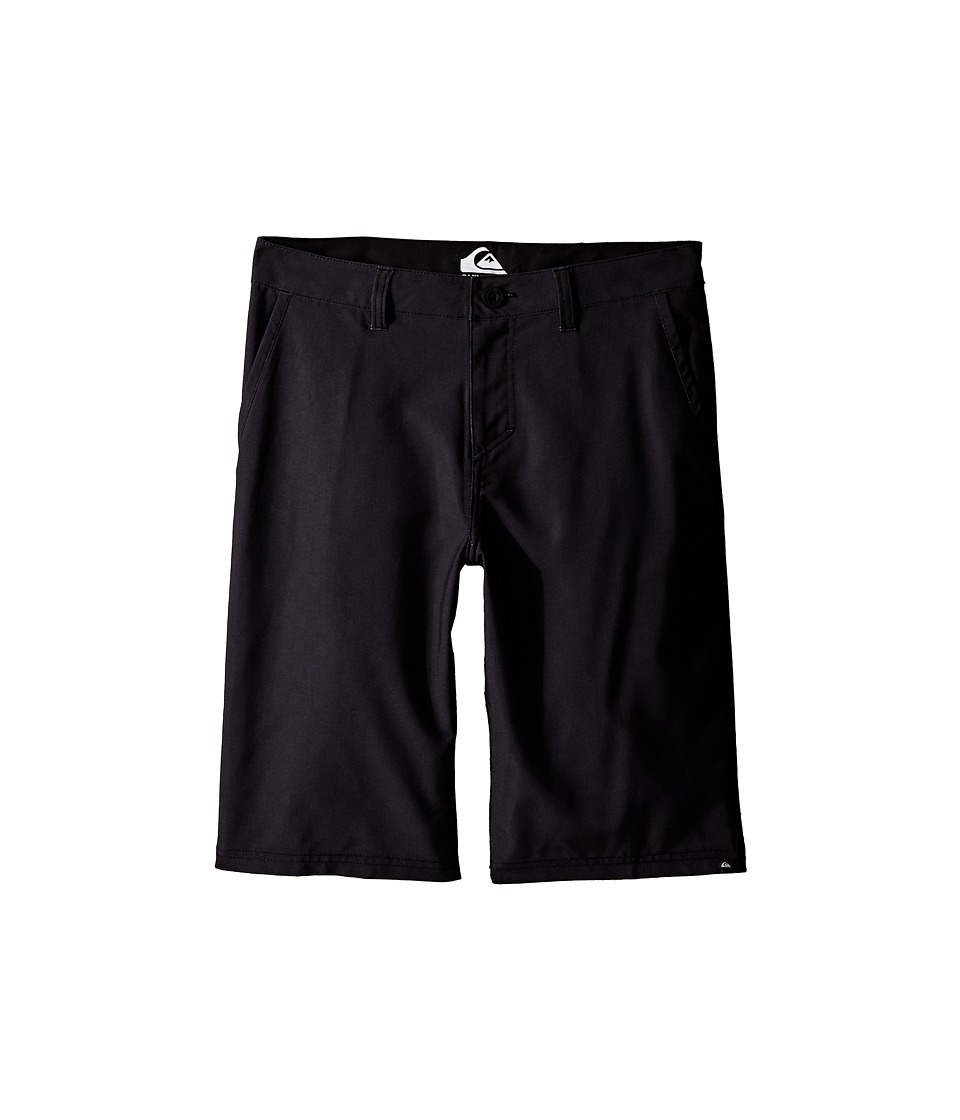 Quiksilver Kids - Neolithic Amphibian Shorts (Big Kids) (Black) Boy's Swimwear