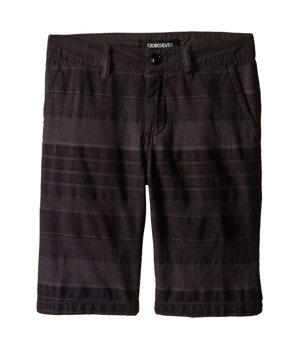 Quiksilver Kids - Griffin Shorts (Big Kids) (Dark Shadow) Boy's Shorts