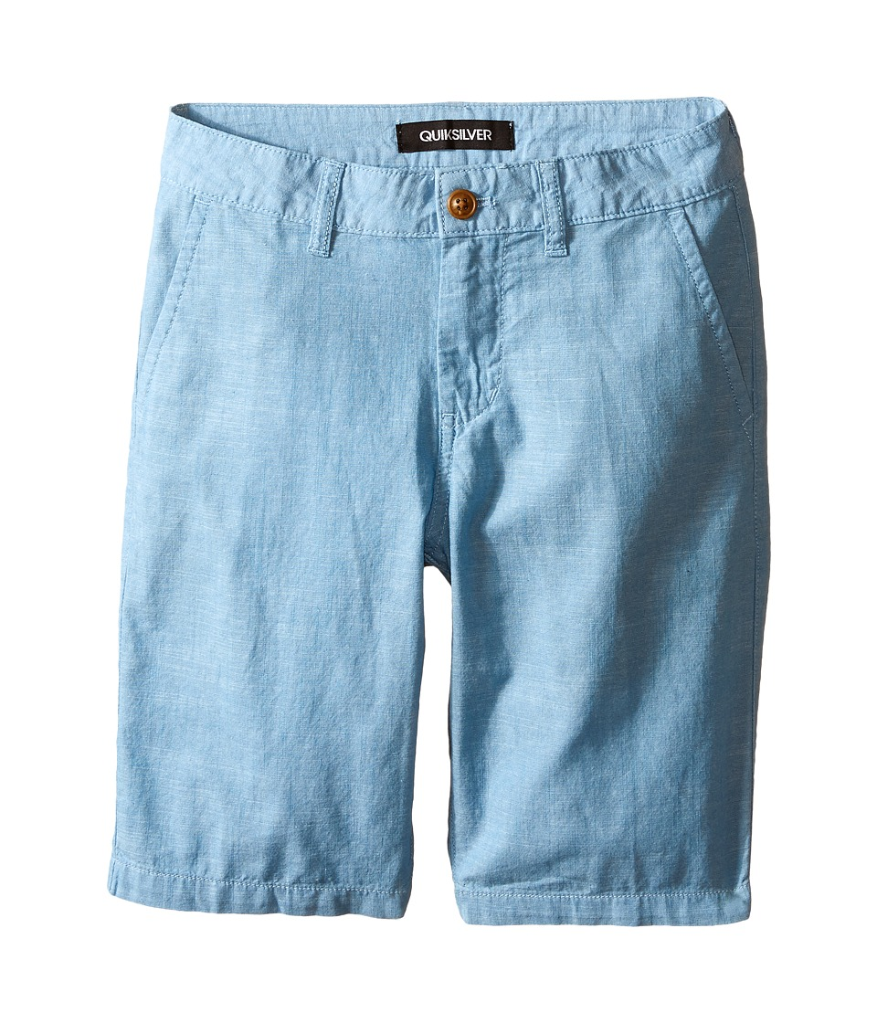 Quiksilver Kids - Trenton Shorts (Big Kids) (Niagara) Boy's Shorts