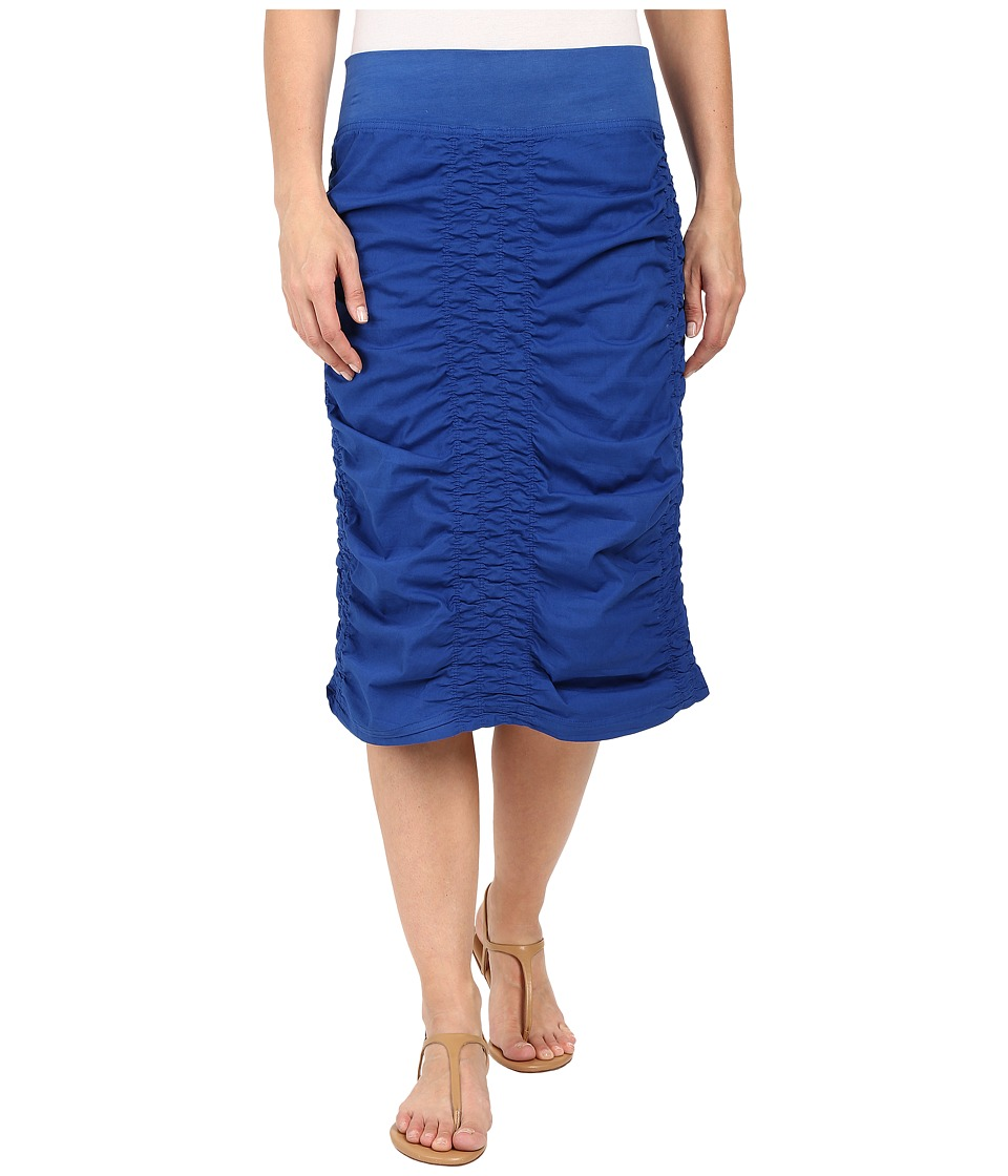 XCVI - Trace Back Skirt (Honorable Blue) Women's Skirt