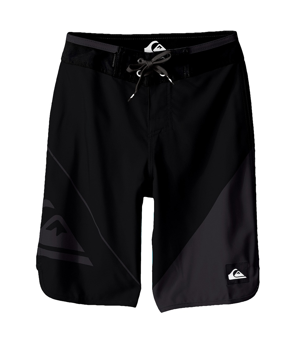 Quiksilver Kids - New Wave Trunks (Big Kids) (Black) Boy's Swimwear