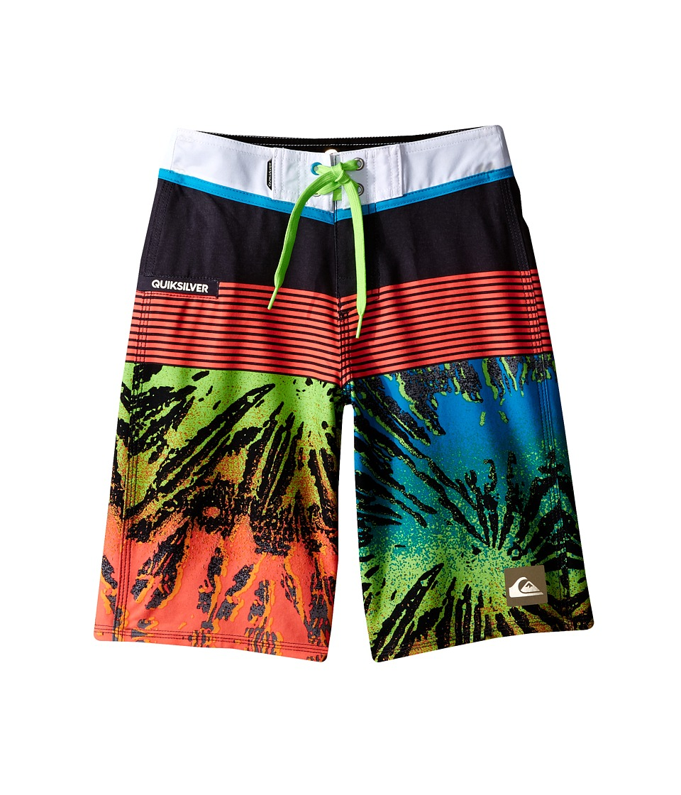 Quiksilver Kids - Remix Trunks (Big Kids) (Tarmac) Boy's Swimwear