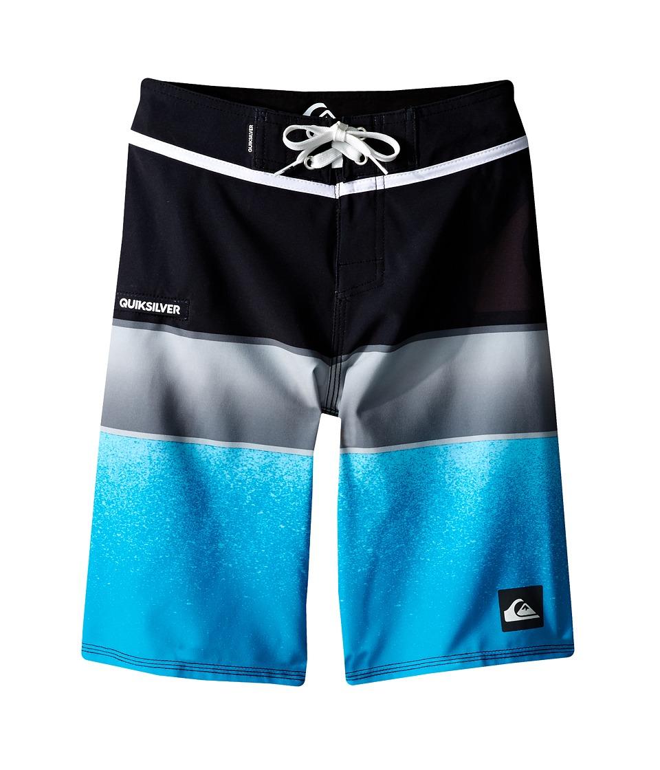 Quiksilver Kids - Everyday Sunset Trunks (Big Kids) (Black) Boy's Swimwear
