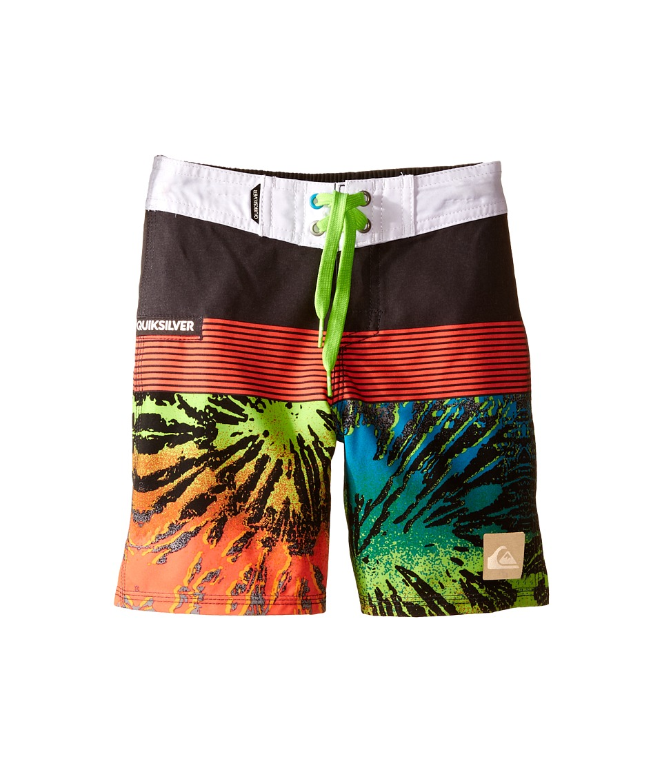 Quiksilver Kids - Remix Trunks (Toddler) (Tarmac) Boy's Swimwear