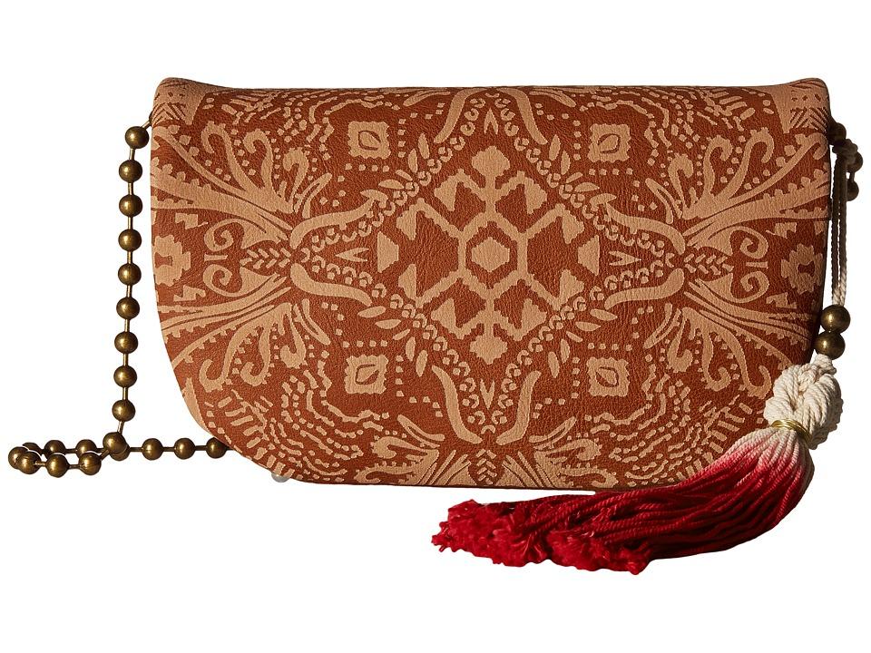 Gabriella Rocha - Florence Mini Crossbody with Tassel (Cognac) Cross Body Handbags