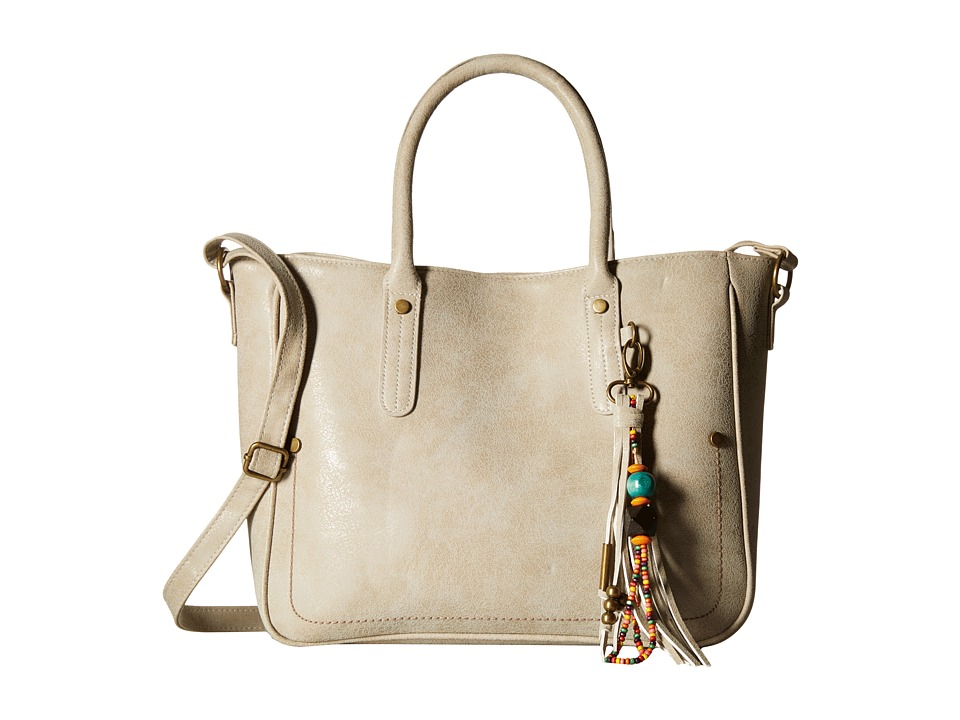 Gabriella Rocha - Isla Tote with Tassel (Bone) Tote Handbags