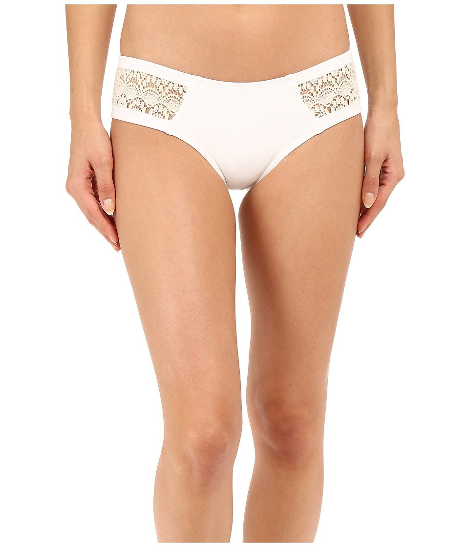 L*Space - Twilight Bitsy Bottom (White) Women's Swimwear