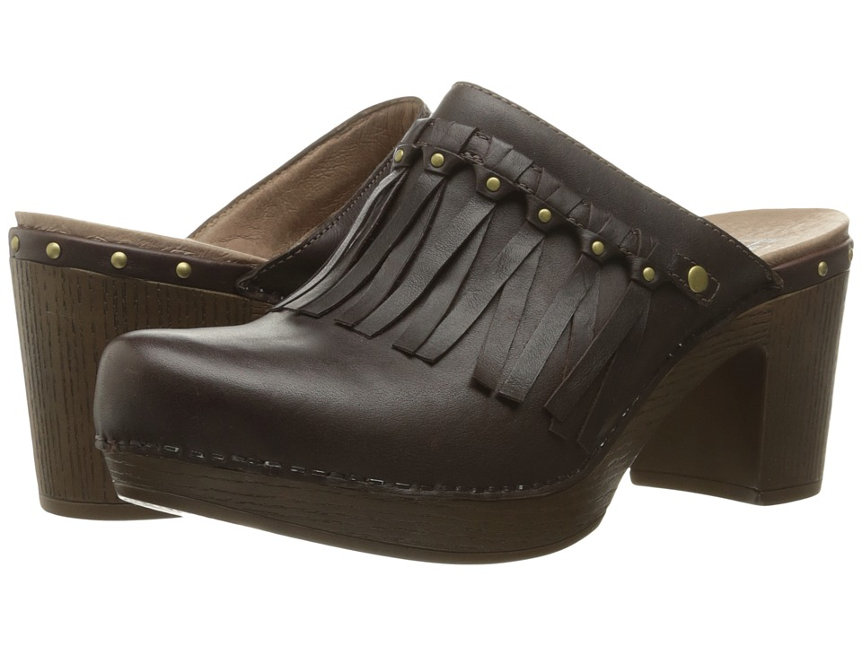 Dansko Deni (Chocolate Full Grain) Women
