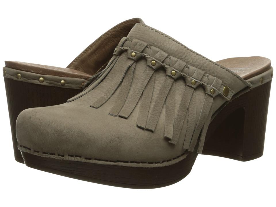 Dansko - Deni (Taupe Milled Nubuck) Women's Clog Shoes