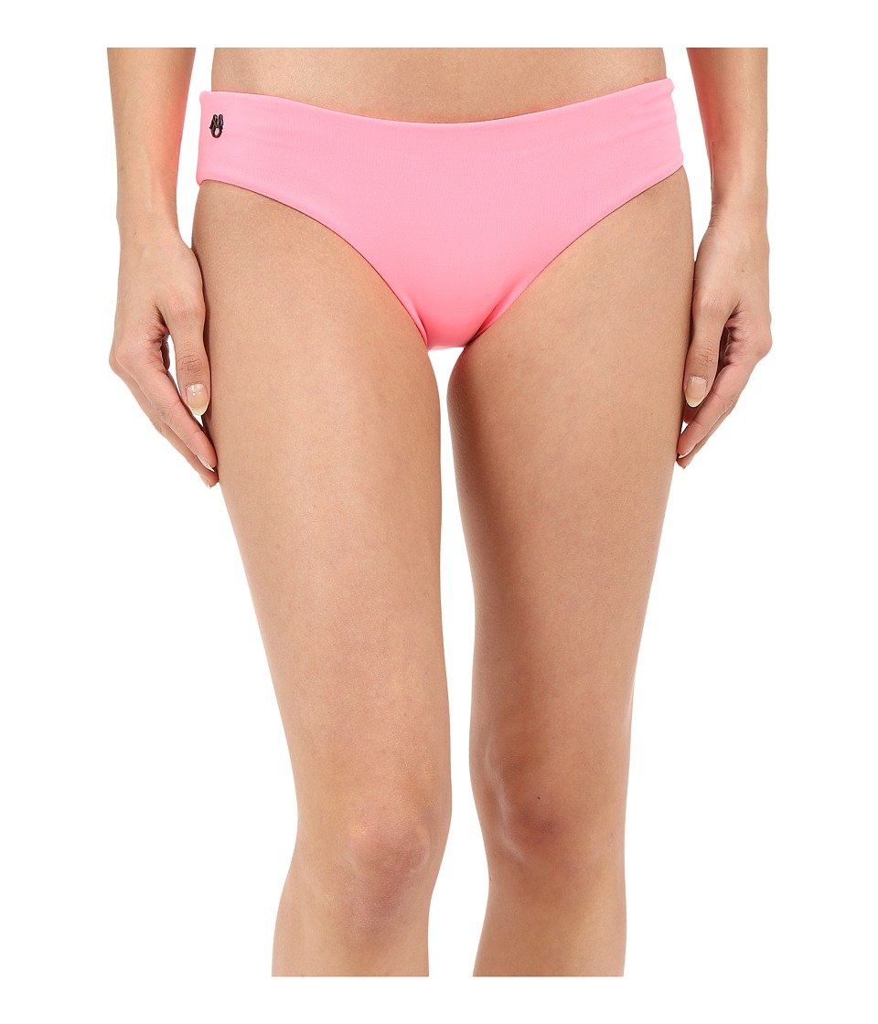 Maaji - Flamingo Shortcut Hipster Cut Bottom (Dark Pink) Women's Swimwear