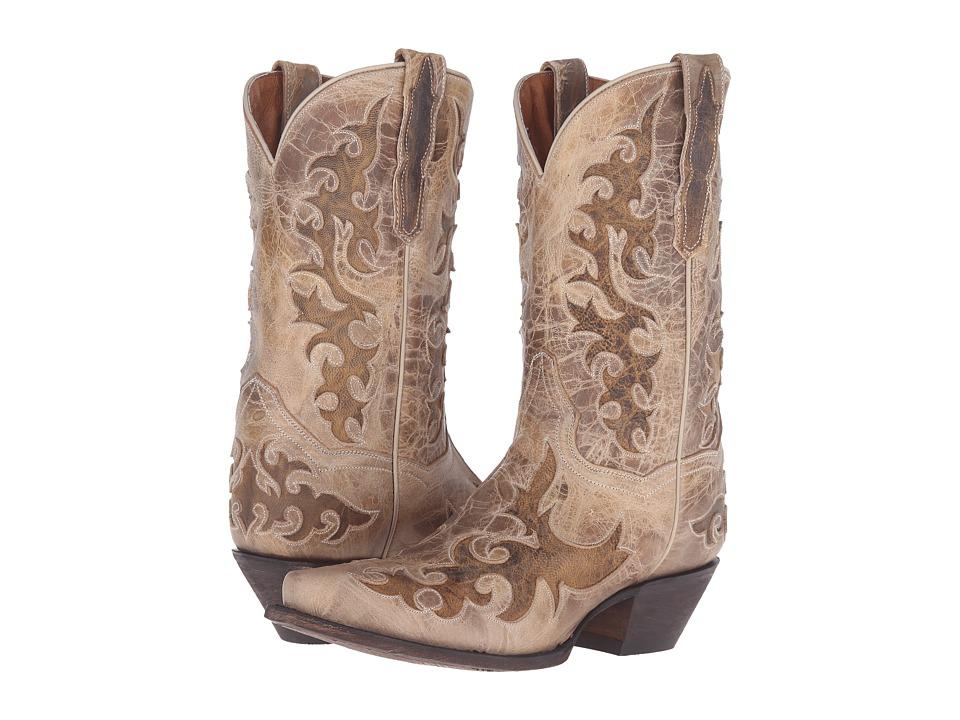 Dan Post - Zephyr (Beige) Cowboy Boots