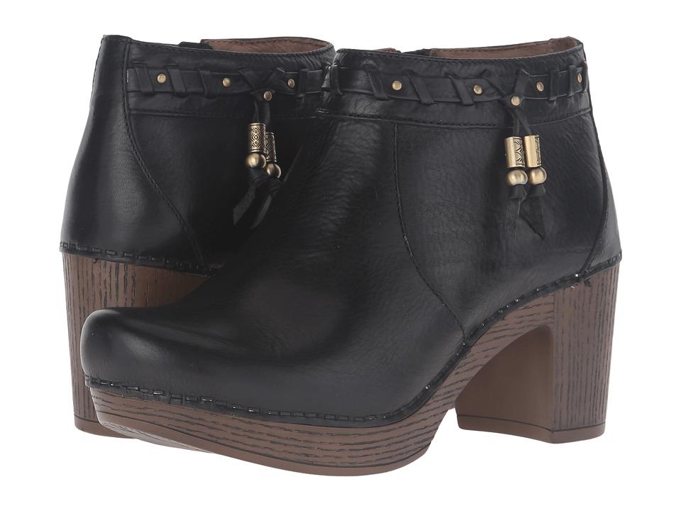 Dansko - Dabney (Black Full Grain) Women's Boots