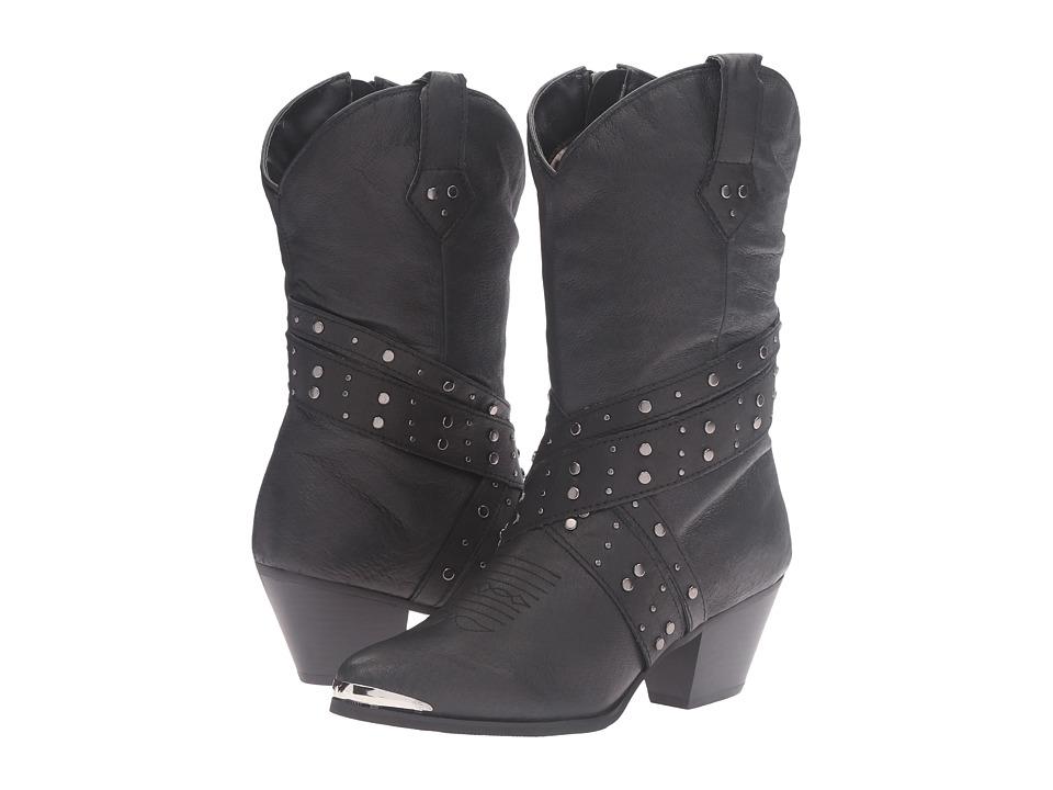 Dingo - Jenny (Black) Cowboy Boots