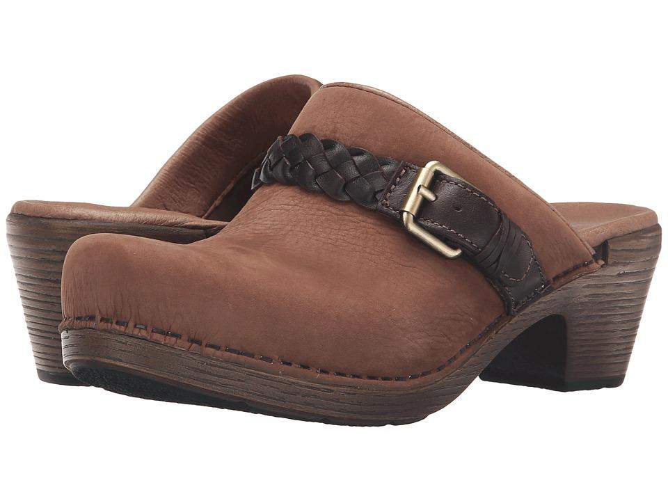 Dansko - Melanie (Amber Milled Nubuck) Women's Clog Shoes