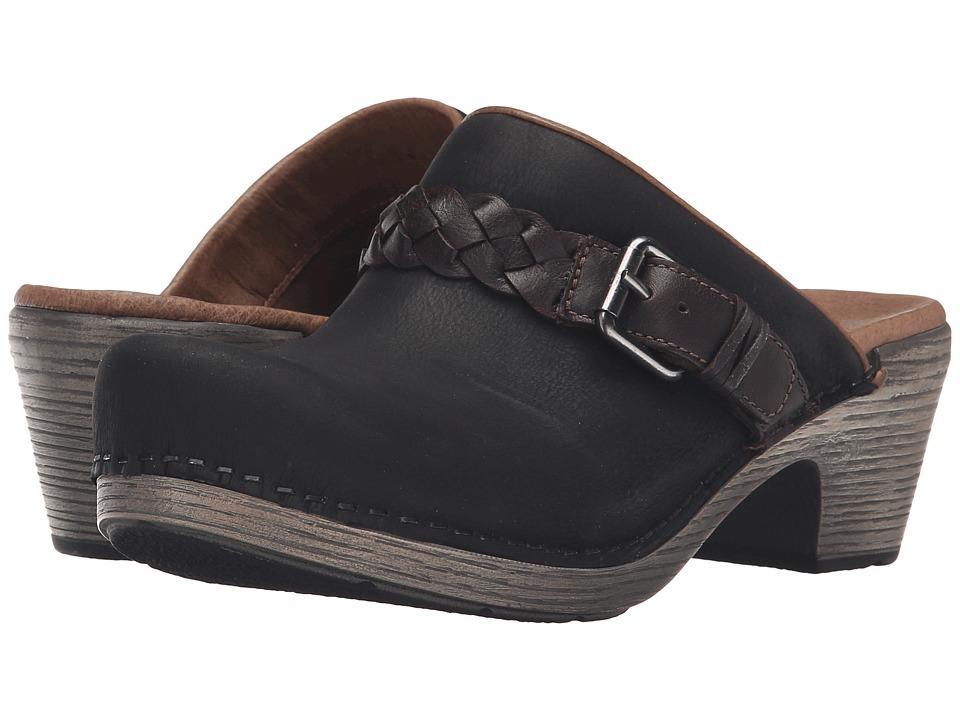 Dansko - Melanie (Black Milled Nubuck) Women's Clog Shoes