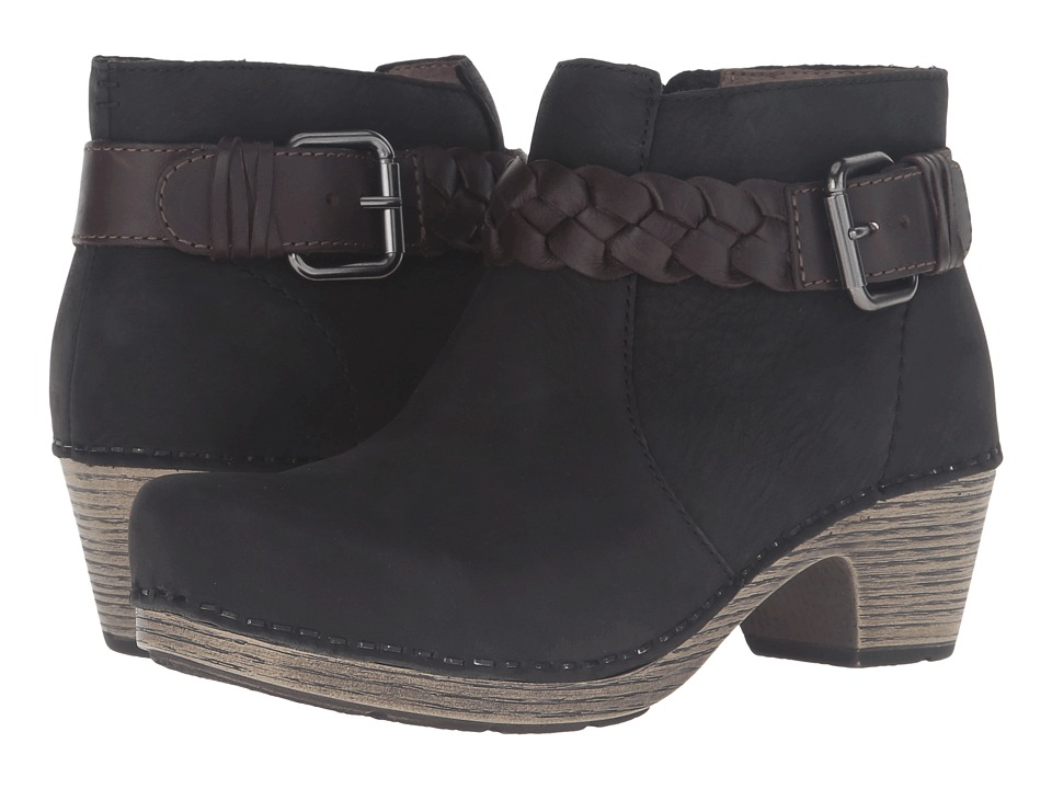 Dansko Michelle (Black Milled Nubuck) Women