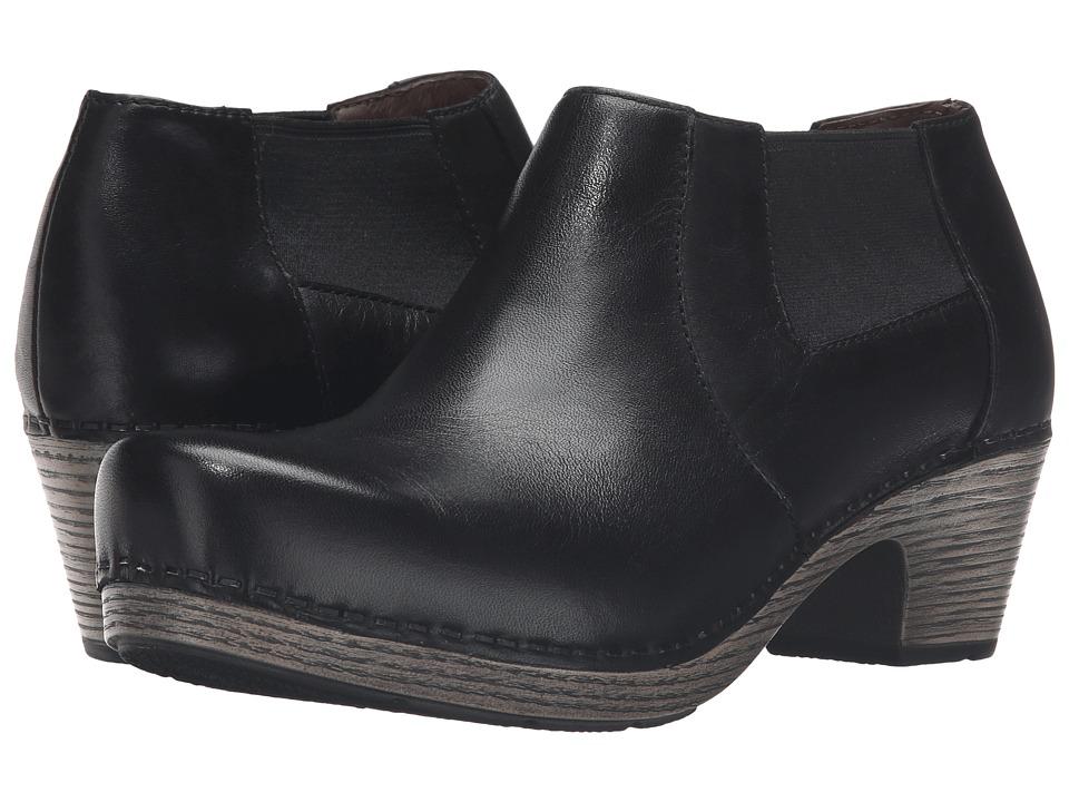 Dansko - Marilyn (Black Full Grain) Women's Boots