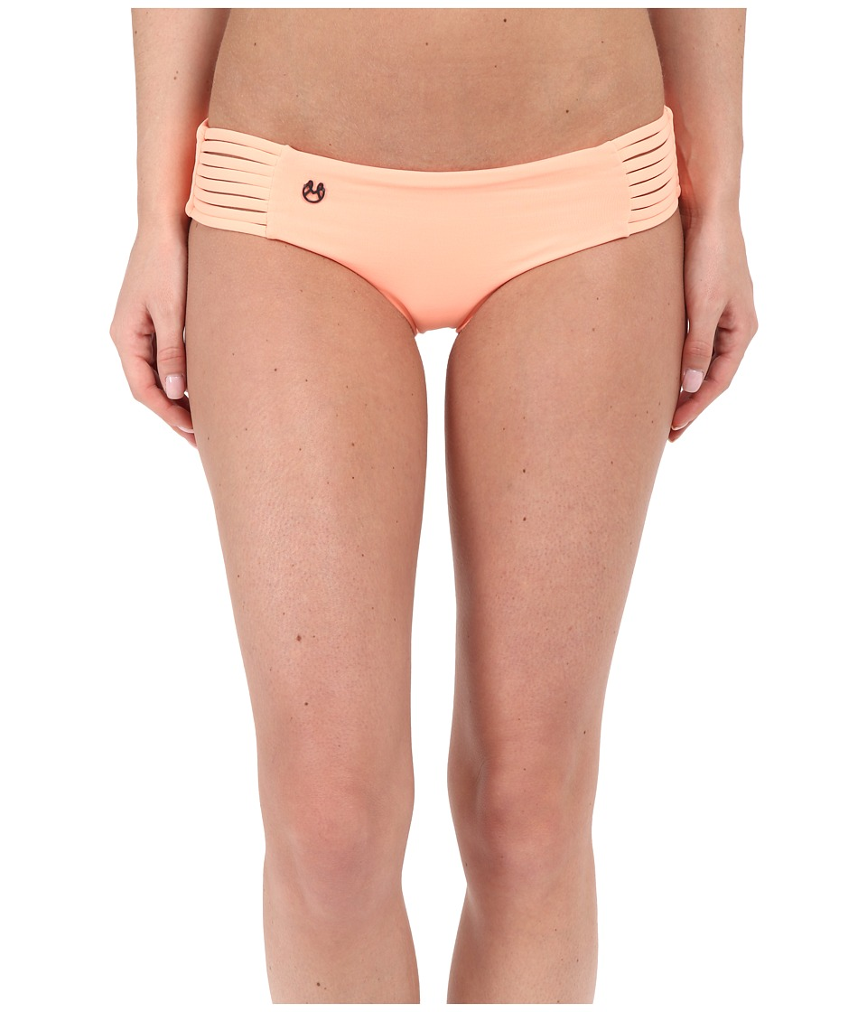 Maaji - Cantaloupe Railway Signature Cut Bottom (Cantaloupe) Women's Swimwear