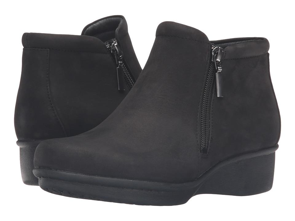 Dansko - Lee (Black Nubuck) Women's Shoes