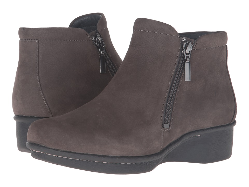 Dansko Lee (Grey Nubuck) Women