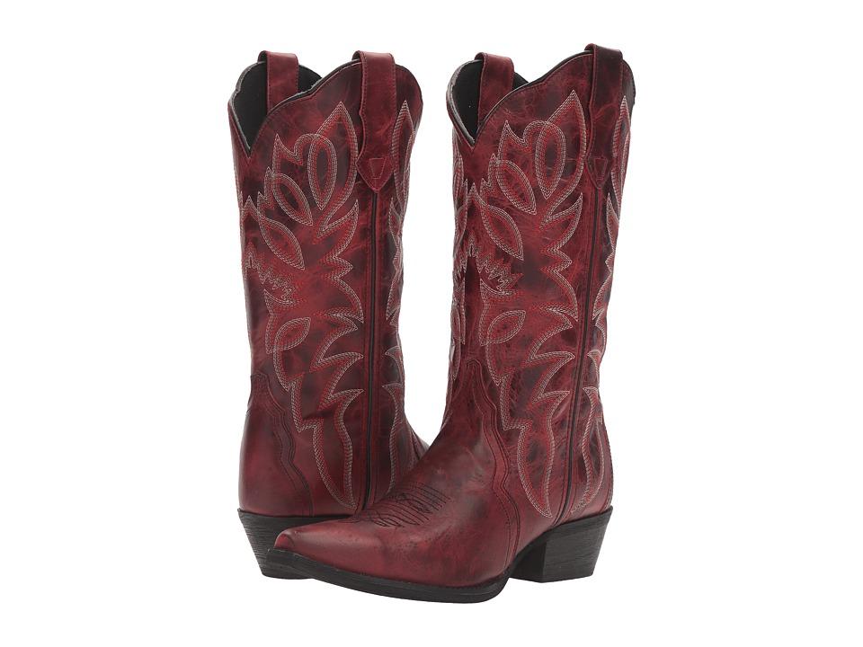 Laredo Leeza (Red) Cowboy Boots