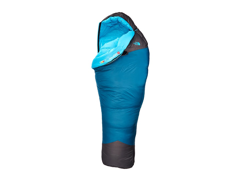 The North Face - Women's Blue Kazoo (Long) (Blue Coral/Asphalt Grey) Outdoor Sports Equipment