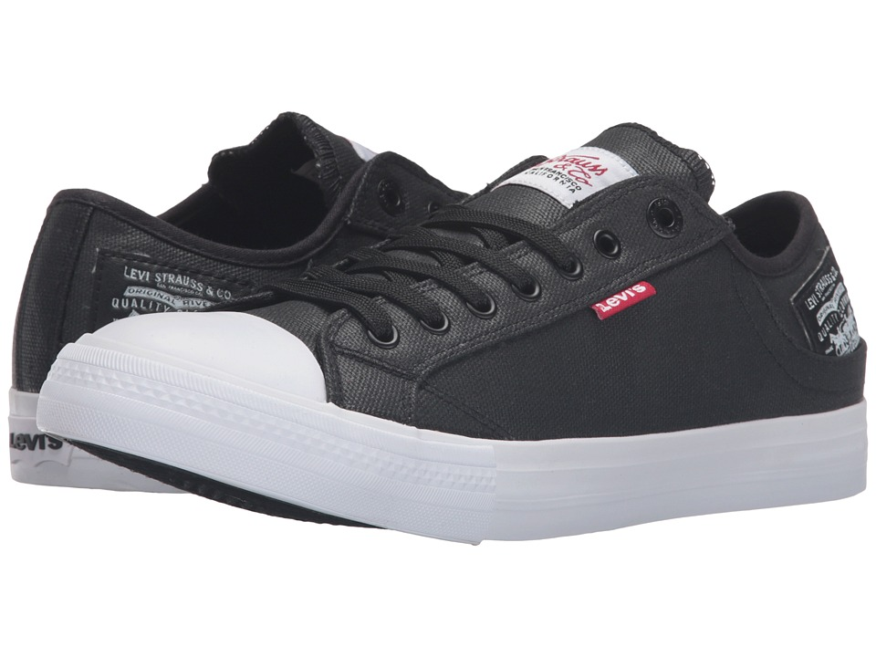 Levi's(r) Shoes - Stan Buck II (Black) Men's Lace up casual Shoes