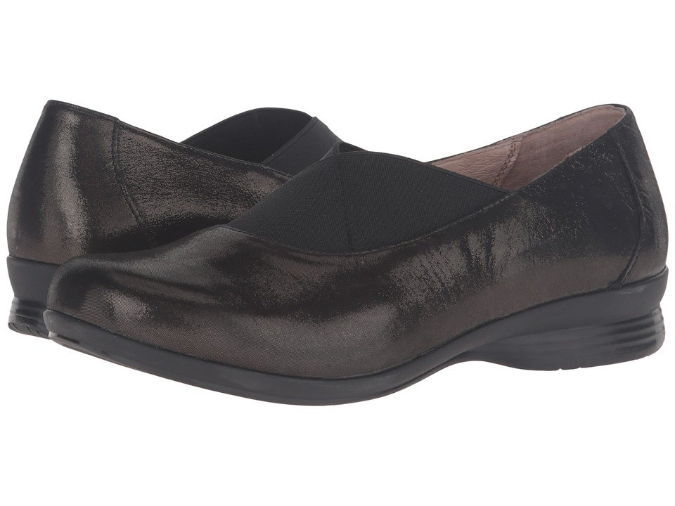 Dansko Ann (Black Metallic Suede) Women