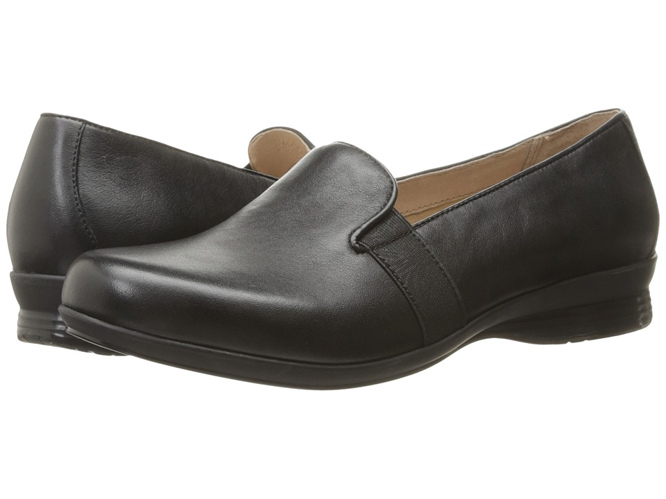 Dansko Addy (Black Nappa) Women's Flat Shoes