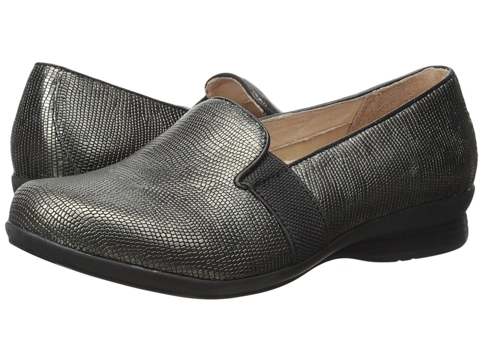 Dansko - Addy (Metallic Lizard) Women's Flat Shoes
