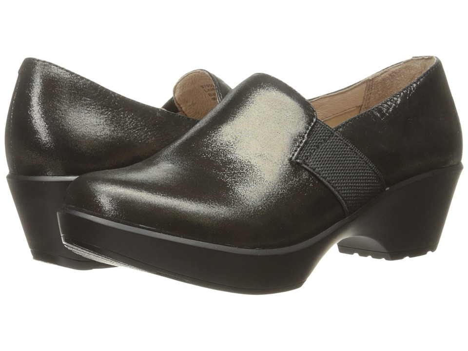 Dansko Jessica (Black Metallic Suede) Women