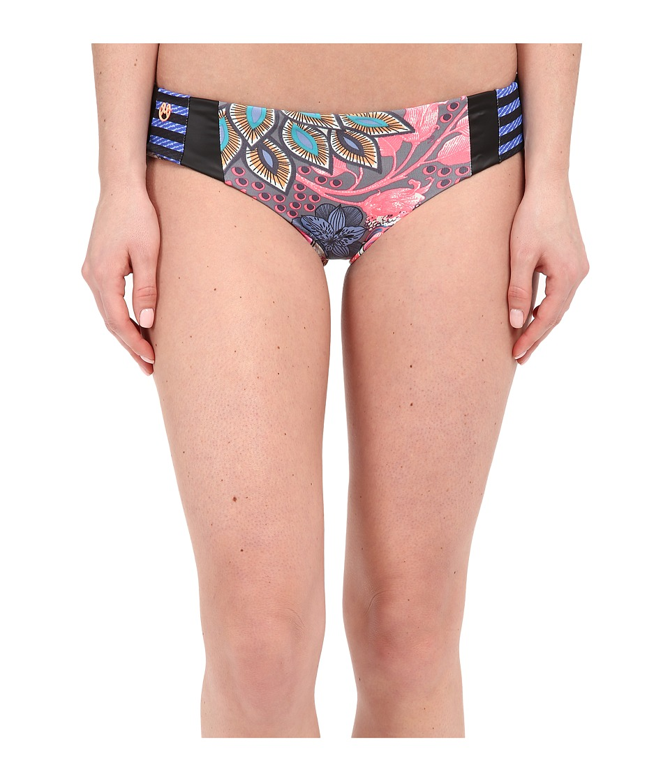 Maaji - Floral Glampers Hipster Cut Bottom (Multi) Women's Swimwear