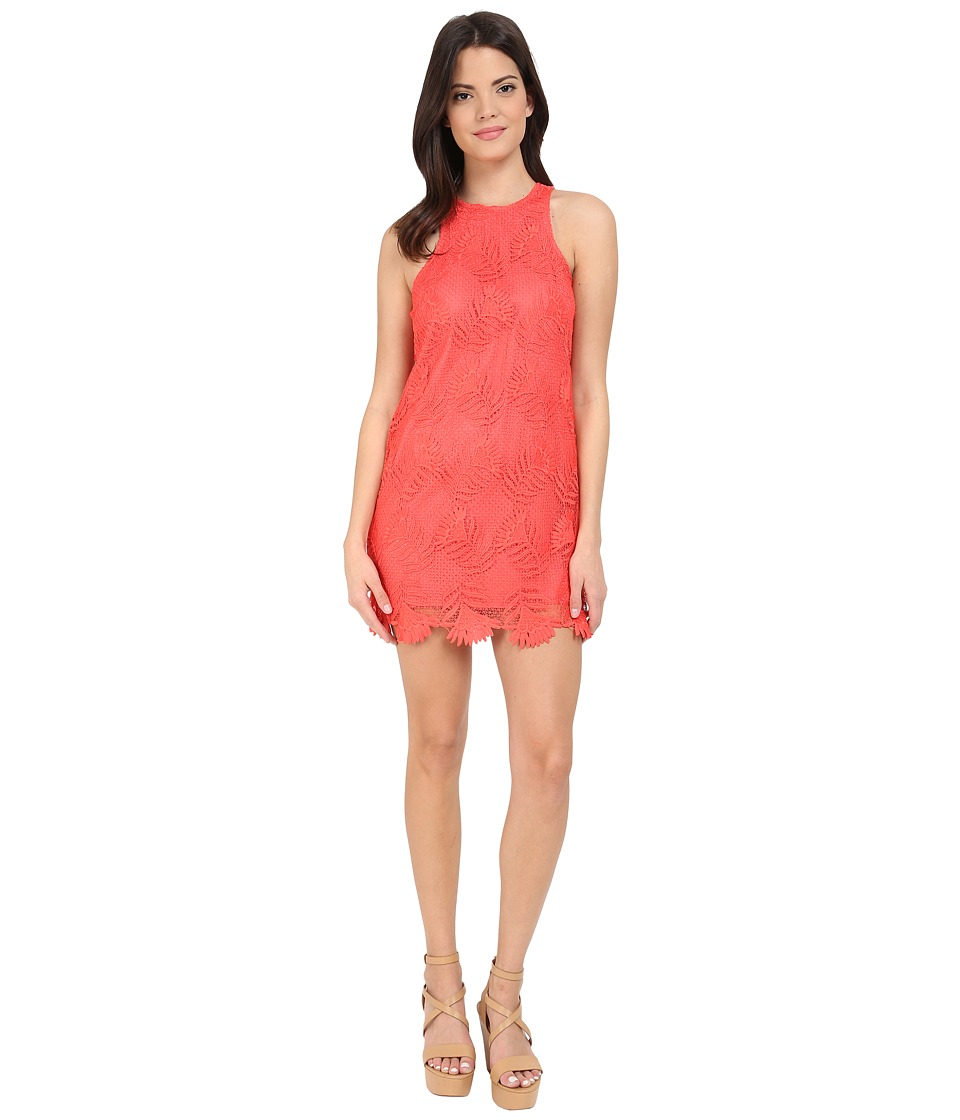 Lovers + Friends - Caspian Shift Dress (Coral Reef) Women's Dress