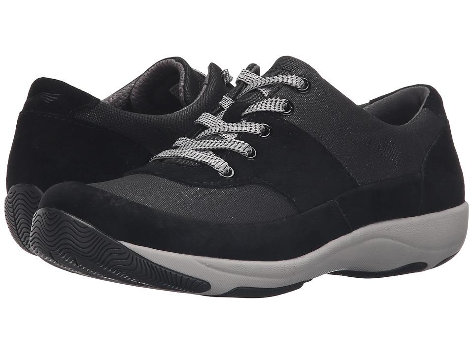 Dansko - Hayden (Black Suede) Women's Lace up casual Shoes