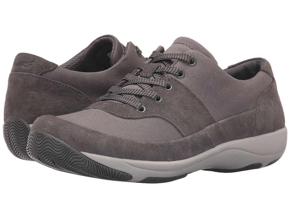 Dansko - Hayden (Charcoal Suede) Women's Lace up casual Shoes