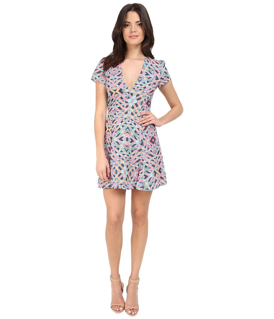 Lovers + Friends Cassidy Dress (Spring Geo) Women