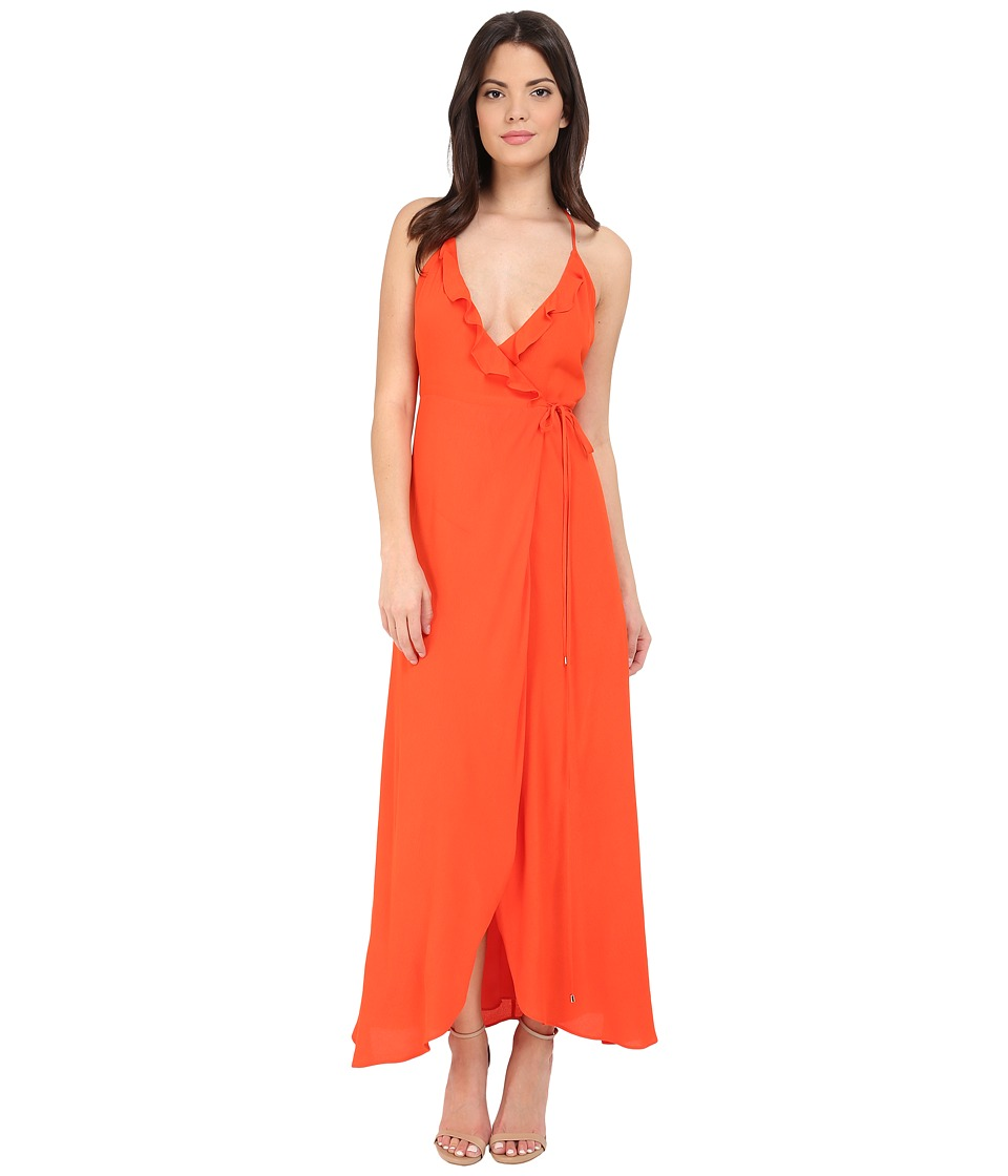 Lovers + Friends - Nostalgia Maxi Dress (Coral Reef) Women's Dress