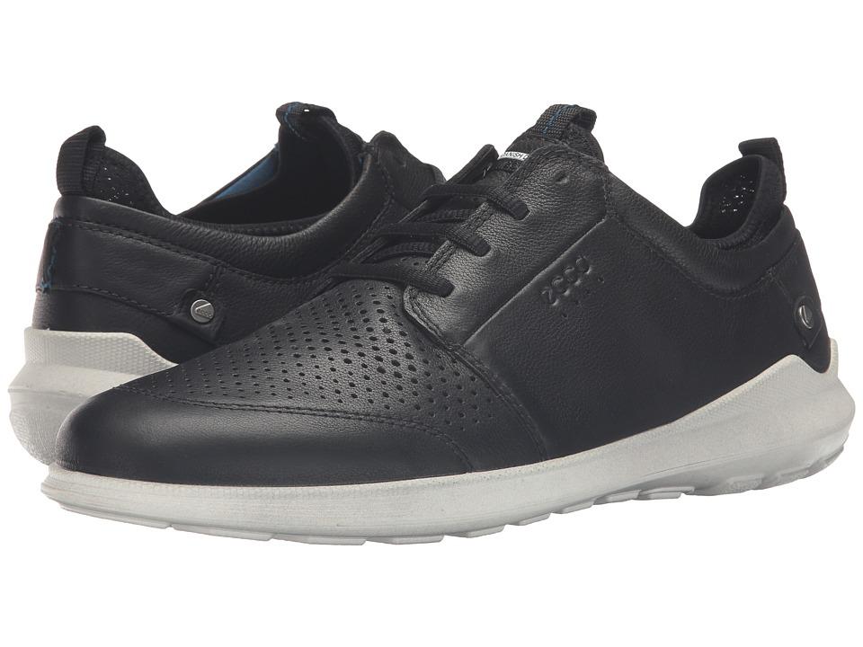 ECCO - Transit Tie (Black) Men's Shoes