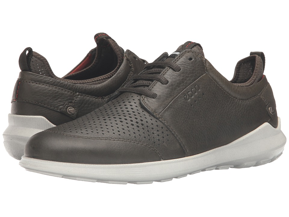 ECCO - Transit Tie (Deep Forest) Men's Shoes