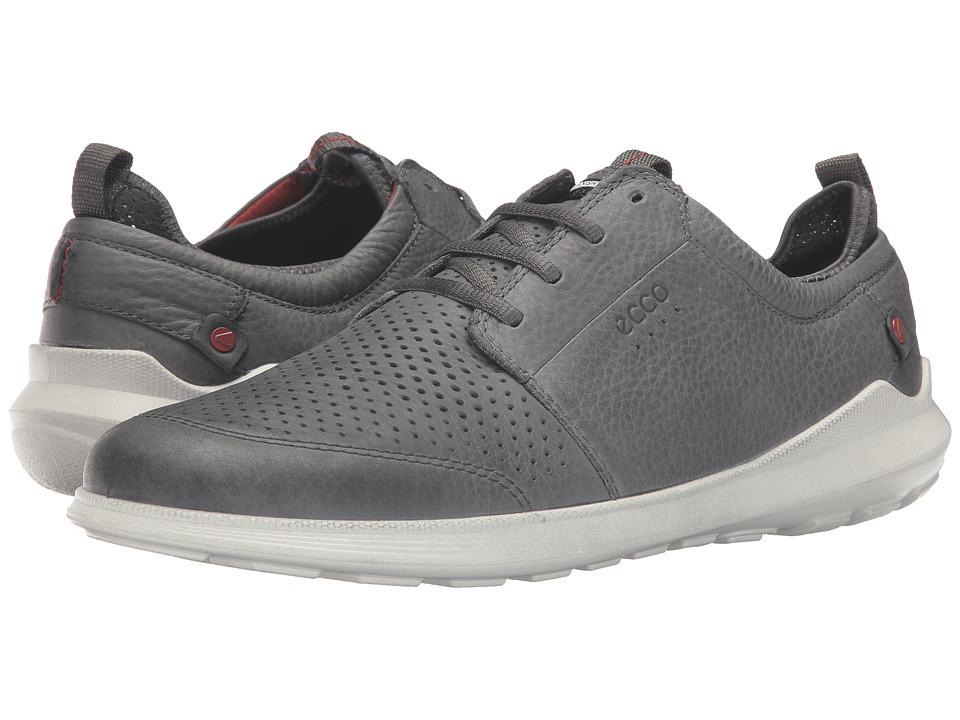ECCO - Transit Tie (Dark Shadow) Men's Shoes