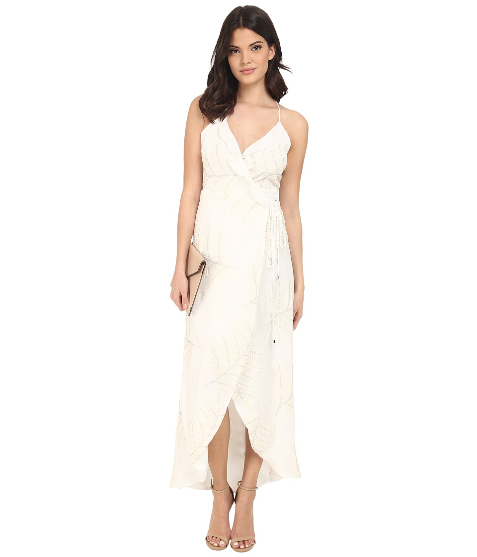 Lovers + Friends - Nostalgia Maxi Dress (Ivory) Women's Dress