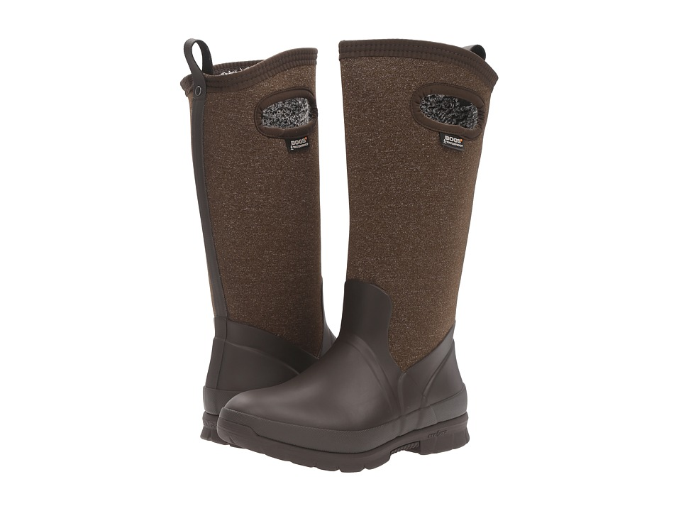 Bogs Crandall Tall (Chocolate Multi) Women