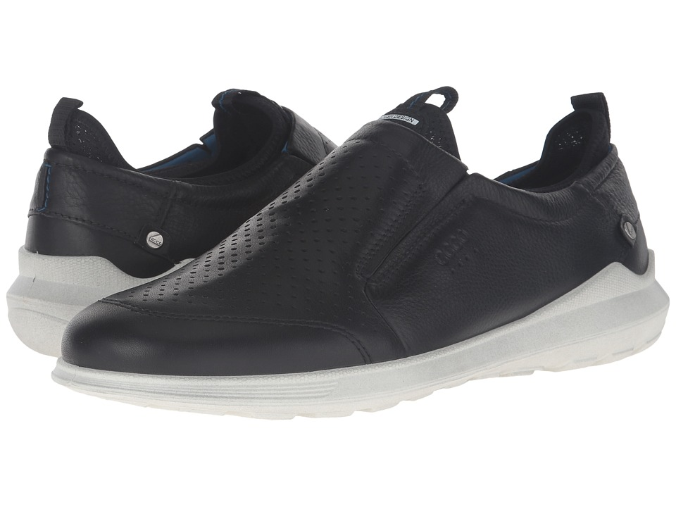 ECCO - Transit Slip-On (Black) Men's Slip on Shoes