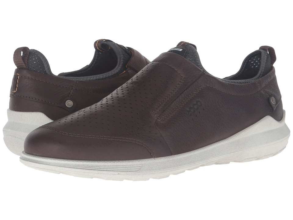 ECCO - Transit Slip-On (Coffee) Men's Slip on Shoes